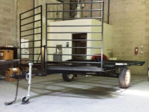Powder Coated trailer Utah