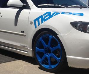 Custom Powder Coated Auto Wheels | Full Blown Coatings