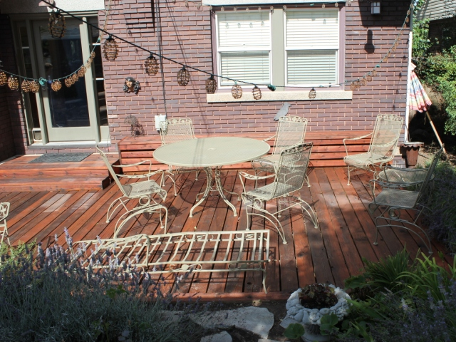 Refinished Patio Furniture