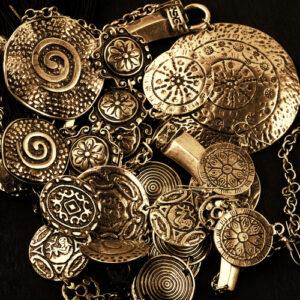 ancient metal jewelry